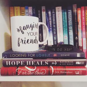for the love, looking for lovely, hope heal books, mug from corie clark, leather wrist cuff
